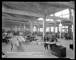 Wooden parts production at the Dayton-Wright Airplane Company Plant 1