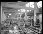 Dayton-Wright Airplane Company employees assembling wooden parts for aircraft production by The Dayton-Wright Airplane Company