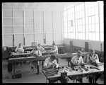 Employees of the Dayton-Wright Airplane Company creating models of airplanes for future aircraft production by The Dayton-Wright Airplane Company