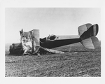 De Havilland DH-4 built by the Dayton-Wright Airplane Company that crashed