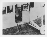 View of the entrance door for the Dayton-Wright KT Cabin Cruiser at the Dayton-Wright Airplane Company by The Dayton-Wright Airplane Company