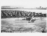 De Havilland DH-4s lined up at the Dayton-Wright Airplane Company