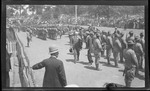 Judson Harmon, Governor of Ohio arriving for the 1909 Wright Brothers Homecoming Celebration medals ceremony