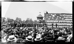 Opening presentation during the 1909 Wright Brothers Homecoming Celebration medals ceremony