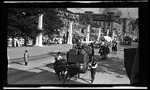 An ox cart in the parade during the 1909 Wright Brothers Homecoming Celebration