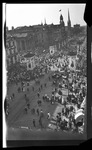 Elevated view of crowds during the 1909 Wright Brothers Homecoming Celebration