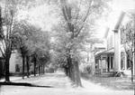 Hawthorne Street looking south