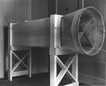 Reproduction of the 1901 Wright wind tunnel