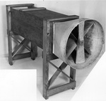 Henry Ford's reproduction of the 1901 Wright wind tunnel by U.S. Army Air Forces