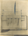 1901 wind tunnel airfoil and lift balance by Orville Wright