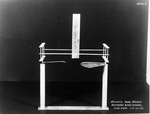 Reproduction of the 1901 Wright drag balance