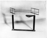 Reproduction of 1901 Wright drift (drag) balance built for the Edison Institute