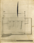 Original 1901 wind tunnel airfoil and lift balance