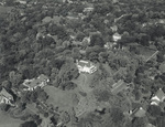 Aerial view of Hawthorn Hill