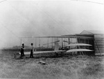 Orville, Wilbur and the 1904 Flyer by Wright Brothers
