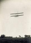 Rearview of the Flyer in flight