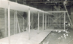 Wright 1911 Glider inside camp building