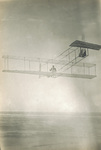 Orville Wright gliding from Big Kill Devil Hill
