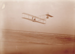 Orville Wright soaring in the Wright 1911 glider