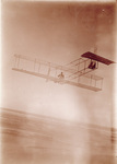 Orville Wright soaring in Wright 1911 glider