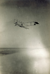 Orville Wright gliding in Wright 1911 glider from Big Kill Devil Hill