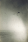 Orville Wright in a high glide in the Wright 1911 glider