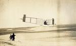 Alexander Ogilvie gliding in Wright 1911 glider