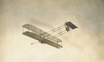 Wright 1911 glider in high glide