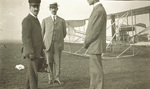 King Victor Emmanuel III with the Wright Brothers
