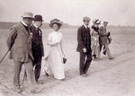 Katharine and Orville Wright at Tempelhof Field by August Scherl