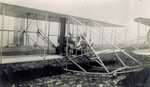 Orville Wright and Walter Brookins
