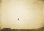 Walter Brookins in flight