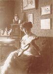 A portrait of Marie Mertens