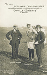 Orville Wright with Berg and the Crown Prince