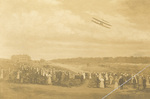 Orville Wright flying at Fort Myer by Charles A. Gray