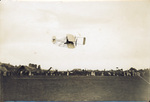 Finish of Speed trial of Wright Brothers Aeroplane