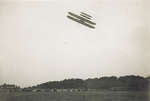 Start of speed trial of Wright Brothers Aeroplane