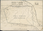 A map of Fort Myer obtained by the Wright Brothers prior to the Army trials