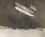 Orville Wright flying the Wright 1909 Signal Corps Flyer at Fort Myer