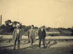 Orville and Wilbur Wright at Fort Myer