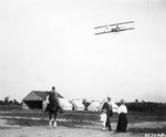 Orville Wright flying Signal Corps Flyer