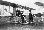 Charlie Taylor and Orville Wright