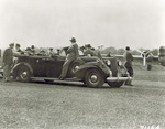 President Roosevelt's inspection tour of Wright Field