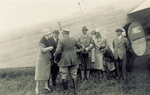 Orville Wright with the Deeds and Waldons