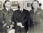 Orville Wright with General Gomez and Lt. Col. Wade