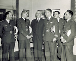 Orville Wright with General Gomez and his officers