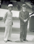 Major A. W. Brock and Orville Wright