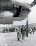 Orville Wright with Brig. General Carroll