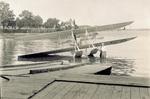 Wright Model B Flyer floatplane