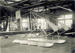 Wright Model B Flyer with twin, multi-step pontoons